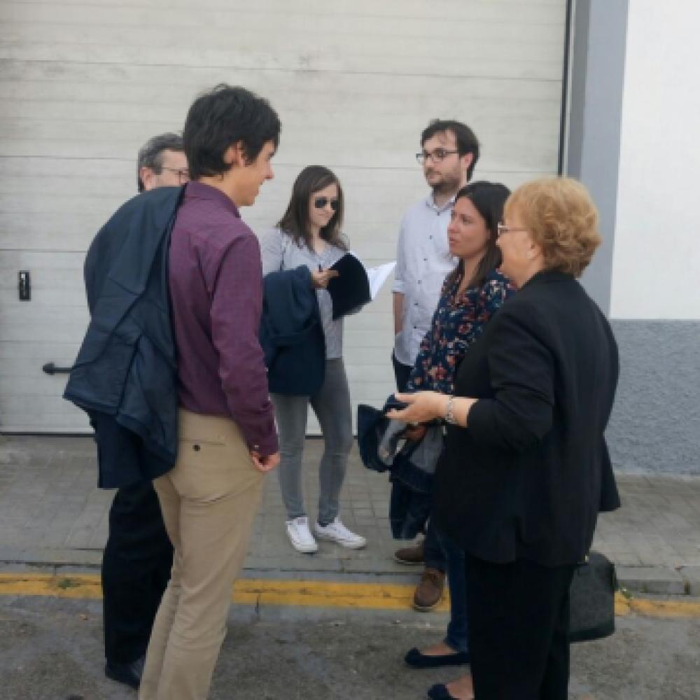 VISITA DE LOS INGENIEROS TÉCNICOS DE TRÁFICO A TORREJÓN DEL REY
