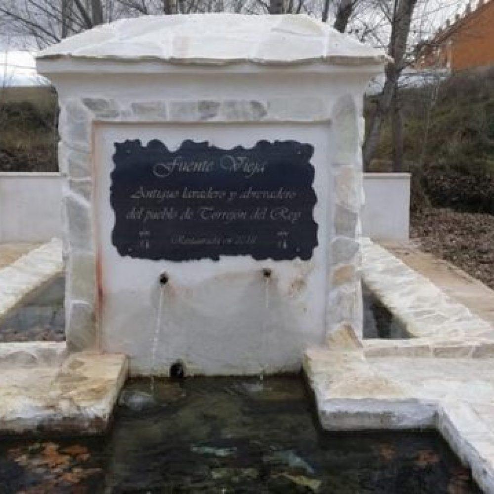 Restaurada la Fuente Vieja