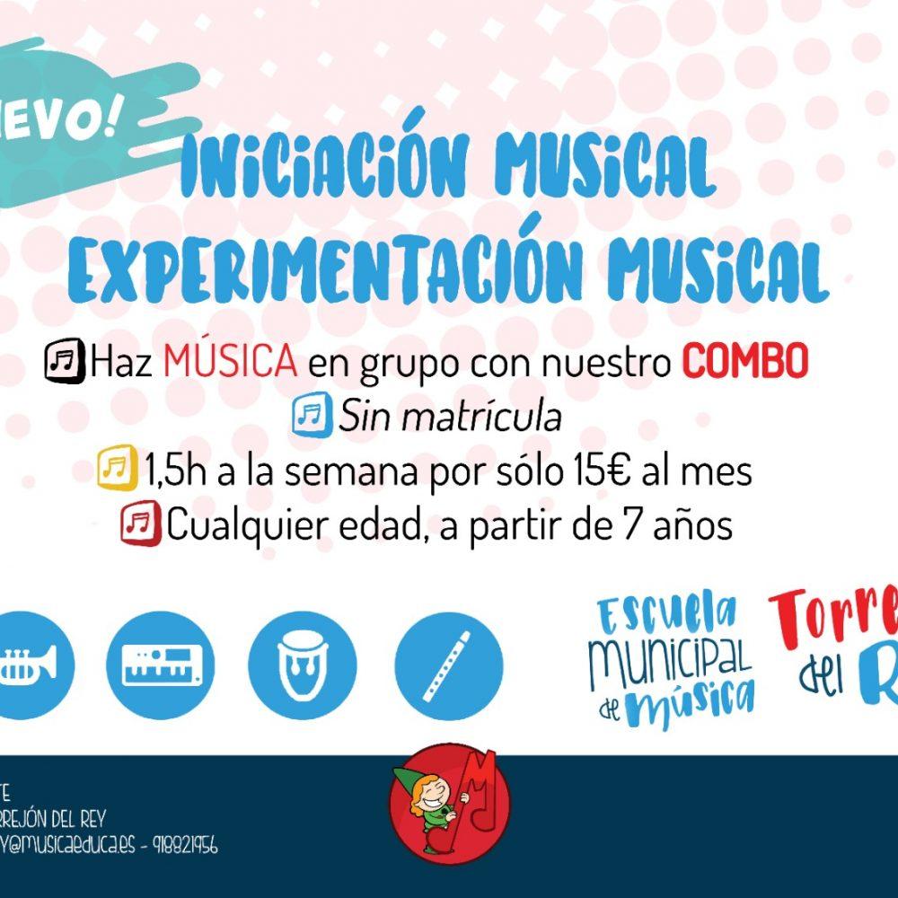 INICIACIÓN MUSICAL EXPERIMENTACIÓN MUSICAL
