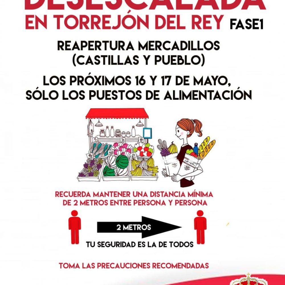 Desescalada en Torrejón del Rey. FASE 1